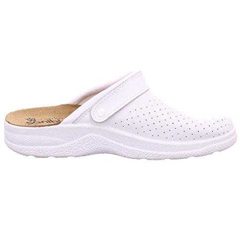 Quick-Schuh Men's 1000007/1 Clogs - 1Weiss iZ1ipDR3
