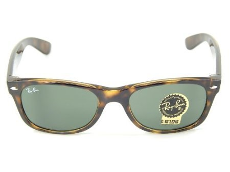 Ray Ban Wayfarer RB2132 902 Tortois/G-15 XLT 52mm Sunglasses