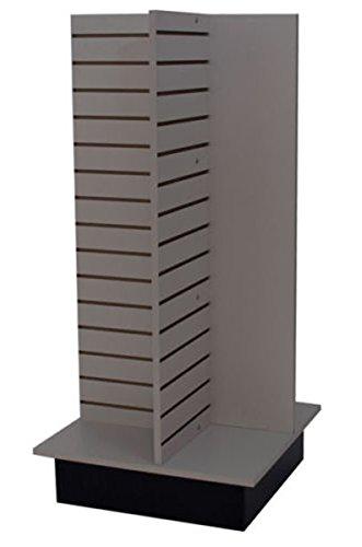 Slatwall Merchandiser Display Store Shelving Fixture Knockdown USA Made Gray NEW (Slatwall Shelving)