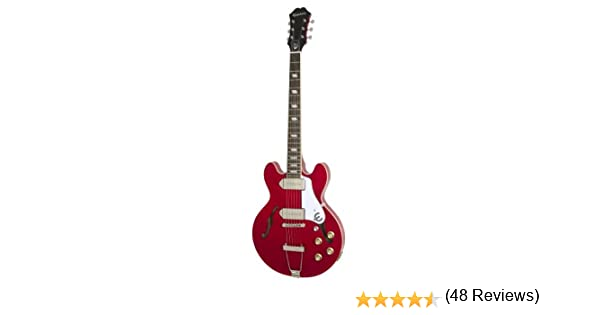 Epiphone Casino Coupe - Guitarra eléctrica, color cherry: Amazon ...