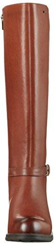 Clarks Damen Cheshunthi Gtx Biker Boots Braun (Dark Tan Leather)