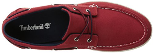 Bay Red Red Newport Timberland Men's Shoes Boat Eye Ox 2 Haute RqwExv1w