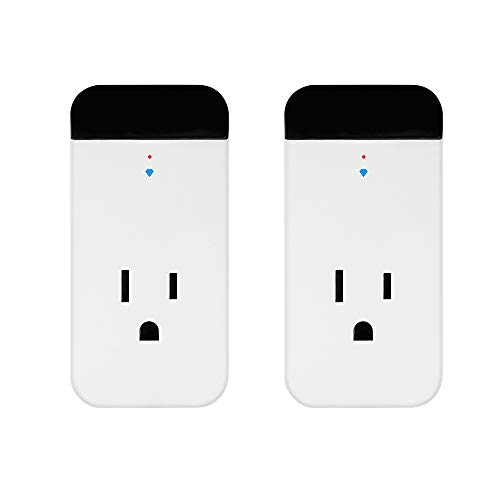 Smart Plug Echo Alexa IR Control Air Conditioner, 2 Pack Horsky Wireless Wifi Outlet Switch Socket Works with Echo and Google Assistant,IR Remote Controlling Air Conditioner for ios and Android by HORSKY