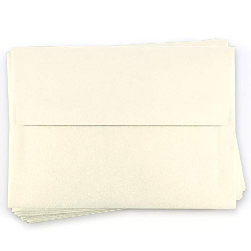 A10 Stardream Opal Envelopes - Straight Flap, 81T, 25 Pack ()