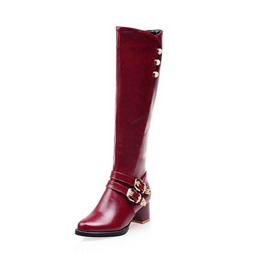 amp;n A Pantofole A Stivaletto 35 red Donna Rosso gZqwZdx1rn