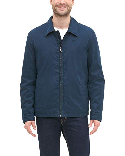 Tommy Hilfiger Men's Lightweight Microtwill Golf Jacket (Regular and Big & Tall Sizes)