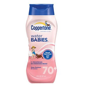 Coppertone Water Babies Sunscreen Lotion 8 oz.