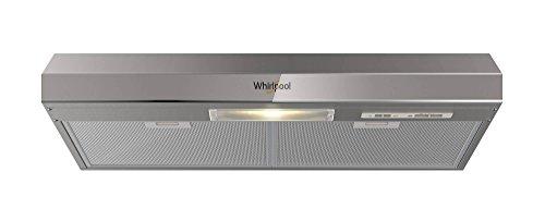 Whirpool WH-8010S - Campana Purificadora Emportrable, Color Acero, 80.01 x 12.50 x 47.80 cm
