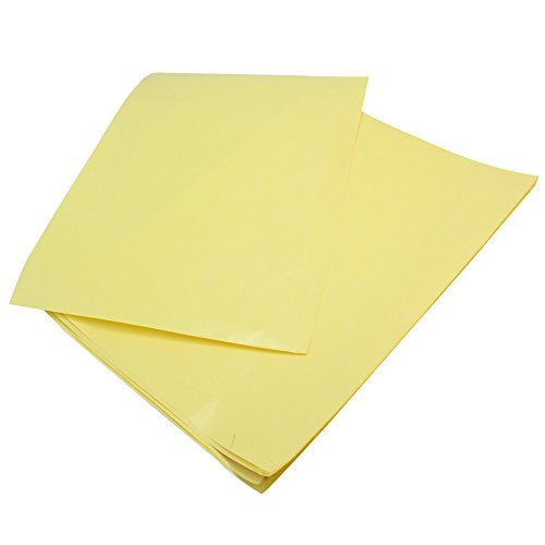10 Sheets A4 Heat Transfer Paper Accessories Yellow for D...