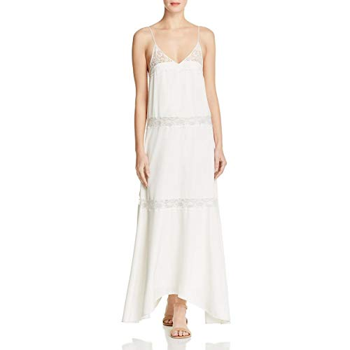 (Theory Women's Walela Elevate Crepe Dress, Ivory, 0)