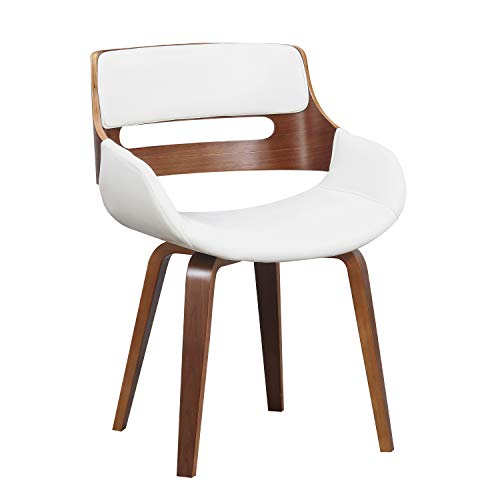 Christies Home Living D-008-WHITE D-008 Dining Chair, White