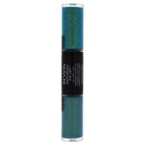 Revlon Photoready Eye Art Lid+line+lash - # 010 Green Glimmer By Revlon for Women - 0.1 Oz Eye Shadow, 0.1 Oz (Eye Lipstick Mascara Shadow)