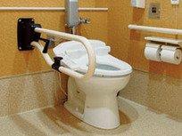 永続マイコンタオルナカ工業 愛の手オーバル補助手すり CU 縦可動式 トイレ用 アイボリーホワイト