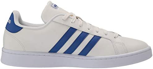 31gGLgZ 2 L. AC adidas Men's Grand Court Sneaker    A '70s style reborn. These men's shoes take inspiration from iconic sport styles of the past and move them into the future. They're crafted with a suede upper and leather-like details. Signature 3-Stripes flash along the sides. Plush midsole cushioning gives comfort to every step.