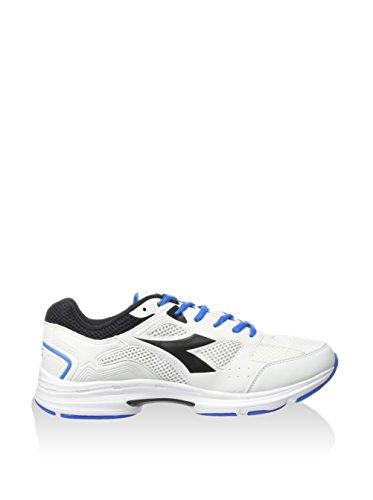 Diadora , Chaussures de ville à lacets pour homme Blanc Cassé bianco/nero/royal