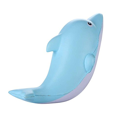 [Squishy Dolphin 15cm Slow Rising Original Packaging Animals Collection Gift Decor Toy] (Homemade Penguin Costumes)