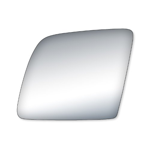 Wagon Driver Mirror Glass (Fit System 99033 Ford Driver/Passenger Side Replacement Mirror Glass)