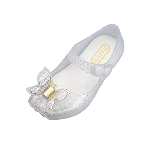 Lightweight Vest Ibex (Tantisy ♣↭♣ Baby Girl Jelly Sandals/Sequins Bowknot Single Shoes/Sweet Dancing Shoes (Big Kid/Girl) White)