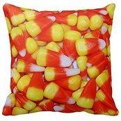 1RHshopstor Candy Corn Sofa Simple Home Decor Design Throw Pillow Case Decor Cushion Covers Square 18x 18 Inches -