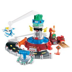 - Fisher-Price GeoTrax Rail and Road Coastal Winds Airport