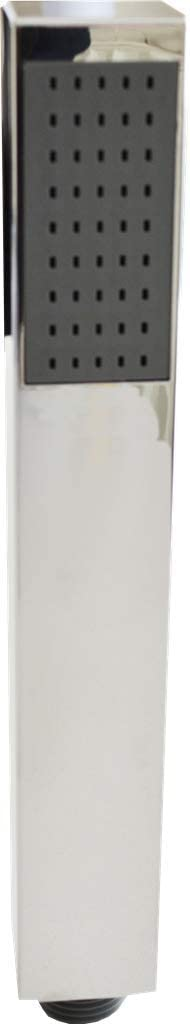 Universal Fitting cuadrado Alcachofa de ducha redonda minimalista cromado