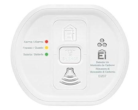 Ei electronics Ei207-2XSPI - Alarma de monóxido de carbono: Amazon.es: Bricolaje y herramientas