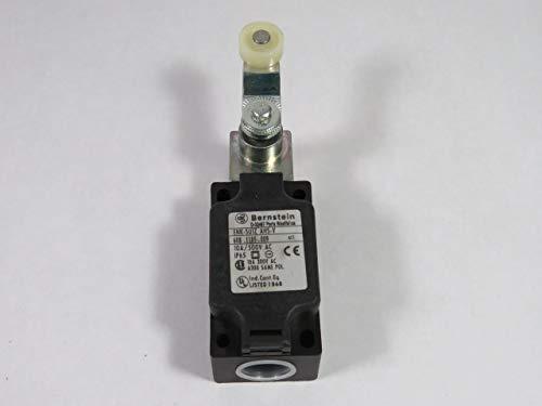 Bernstein 608.1185.009 Limit Switch 1NO//1NC 10A 500V 1//2 NPT