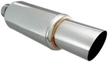 DC Sports DCM3000S 4.5 Slash-Cut Muffler Tip with 3 Core