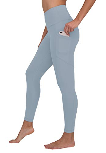 95a91d6ac6aa83 90 Degree by Reflex High Waist Interlink Yoga Pants - Ocean Haze - XL