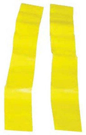 Olympia Sports Replacement Yellow Flag Football Flags - 3 Sets of 12 Pairs (36 Pair Total)