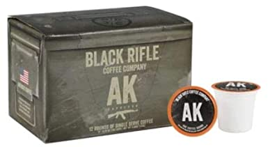 Compatible with Keurig Perfect Coffee Lovers 12 Count K Cup Compatible Variety Pack Coffee Pods for Single Serve Coffee Black Rifle Coffee Company Silencer Smooth Light Roast Coffee Rounds