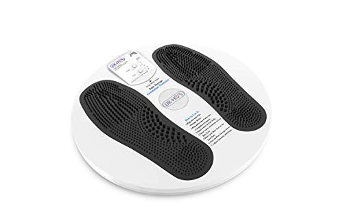 DR-HO'S Circulation Promoter TENS Unit and EMS - Improves Circulation, Reduces Swelling, and Alleviates Feet and Leg Pain - Deluxe Package (Includes DR-HO'S Pain Therapy System and More)