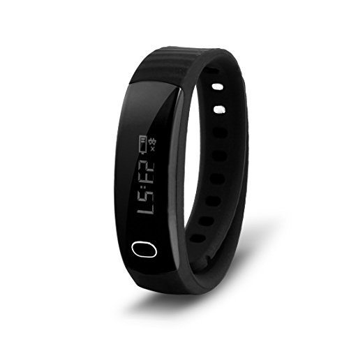 DealMux Sport Smartband H8 Sleep Monitor Fitness Smart Bracelet Black for Android 4.3 iOS 7.0