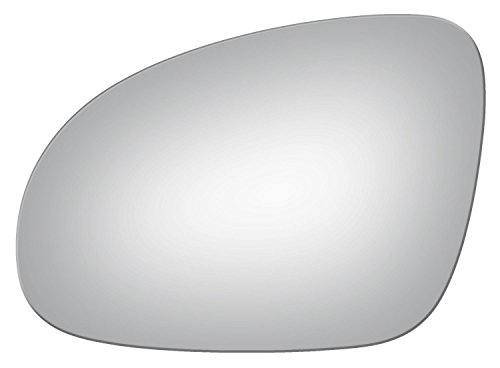 Burco 4104 Left Side Mirror Glass for VW Eos GTI Jetta Passat R32 Rabbit (2005 2006 2007 2008 2009 2010 2011 2012 2013 2014) by Burco