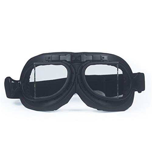 MT&GLAGGLE WWII Harley Style Motorcycle Motocross Moto Goggles Scooter Goggle Glasses Aviator Cruiser a1