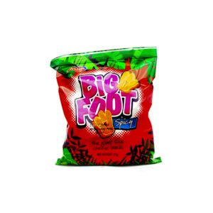 Holiday Big Foot Cheese Snack (Spicy) (Big Snacks)