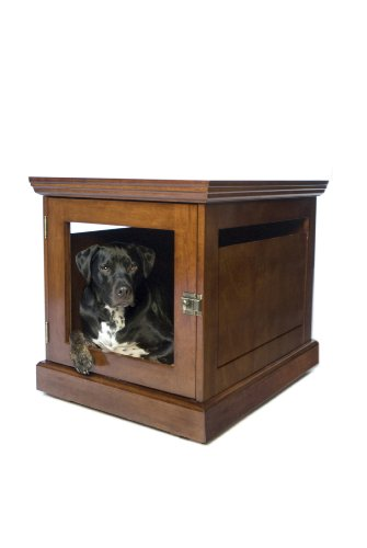 DenHaus TownHaus Indoor Dog House and End Table, Mahogany, ()