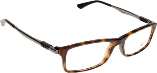 Ray Ban Optical Montures de lunettes RX7017 Pour Homme Black, 54mm Transparent - Transparent