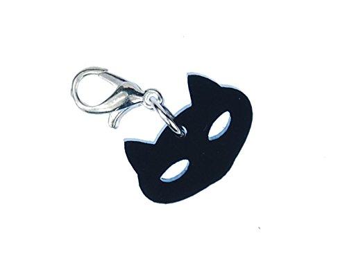 miniblings Pulsera del Encanto del Gato Cristal acrílico Cabeza Gatos Cabeza Gatos: Amazon.es: Joyería