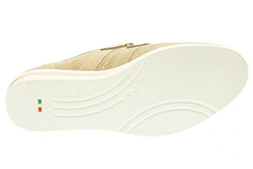 NERO GIARDINI las mujeres zapatillas de deporte bajas con P717952D / 702 de cuña Sand
