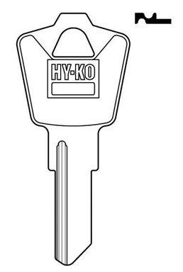- Hy-Ko Key Blank Cylinder Esp Ez# Es8m Single Sided 10 Pc / Bag Upc Coded