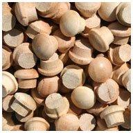 "WIDGETCO 1/4"" Cherry Button Top Wood Plugs"