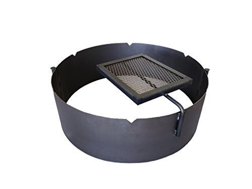 Fire Ring King - Fire Ring + Swing Grate - 30