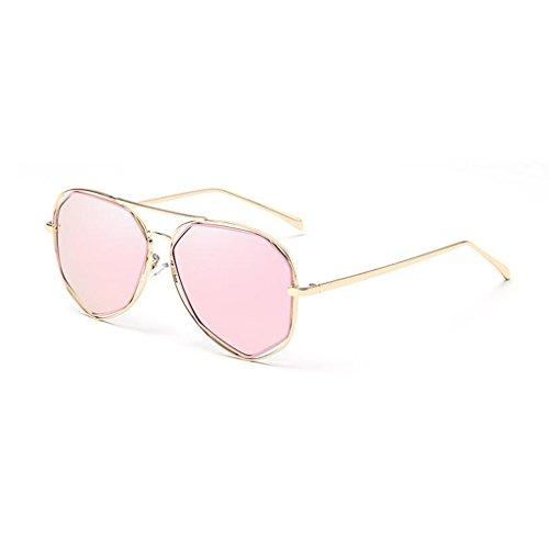 Decorativo Gafas UV400 Metal Anti 3 Cara Luz 2 de Sol Ultraligero Redonda Color QZ polarizada de HOME Playa Espejo Movimiento Xw45xxqan