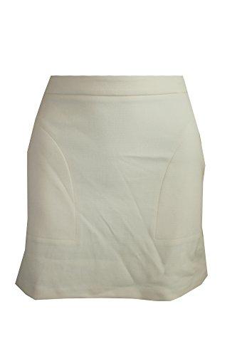 Bar III Women's Mod Miniskirt (XS, White Smoke)