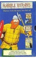 """Download Horrible Histories Slipcase 2: """"Vicious Vikings, Smashing Saxons, Stormin' Normans: Vicious Vikings, Smashing Saxons, Stormin' Normans pdf"""