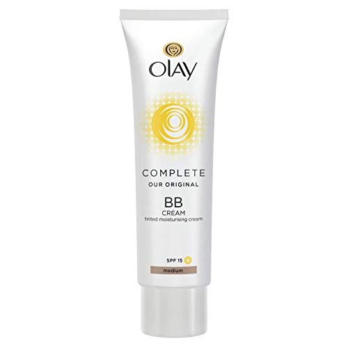 Olay Complete Bb Cream Spf15 Skin Perfecting Tinted Moisturiser 50Ml - Medium - Oil Of Olay Moisturizing Foundation