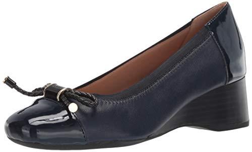 (Geox Women's AUDALYA 3 Wedge Ballet Shoe, 1 3/4