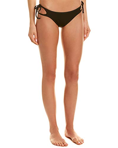 (LSpace Women's Ridin' High Ribbed Paradise Bottom Black Small )