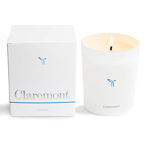 - PHLUR Claremont Luxury Scented Candle in Glass Vessel - Long Lasting, 100% Natural Wax Candle with Notes of Maté, Shiso Leaf, White Ginger, and Orange Flower